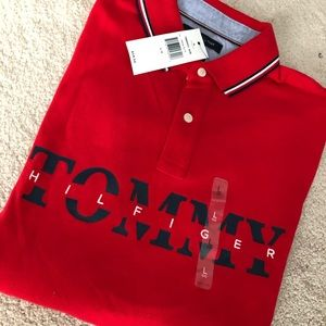 Polo tommy hilfiger men's polo shirt new